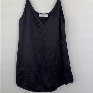 Black tank top blouse